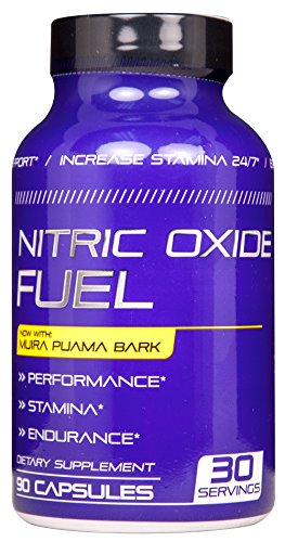 Nitric Oxide Fuel N.1 Effective Booster increase Energy, Stamina, Size, Physical Performance Extra Natural boost formula Increase Performance 90 Caps