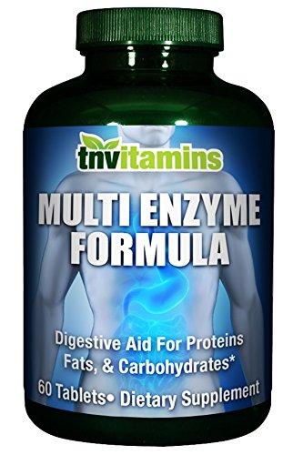 Fórmula de enzimas de multi - 60 comprimidos