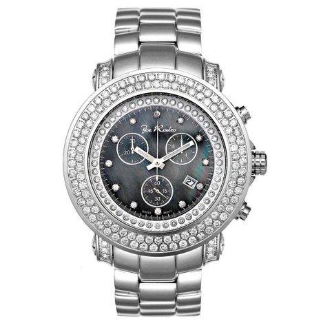 Joe Rodeo Diamond Men's Watch - JUNIOR silver 6.75 ctw