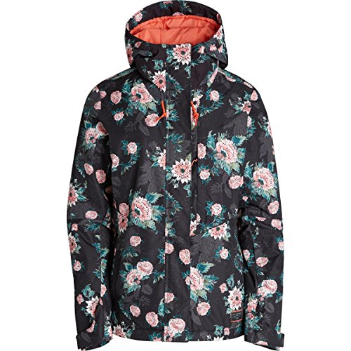 Billabong Junior's Akira Printed Snow Jacket, Floral, S (Billabong Snow Jackets)