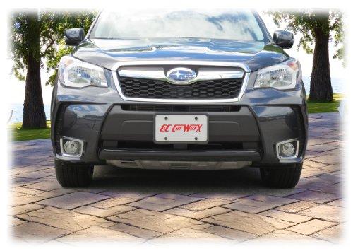 Amazon.com: C&C Car Worx 2014-2015-2016-2017-2018 Forester 2.0XT Turbo FT-14-FP Front License Plate Frame Bracket Mount: Automotive