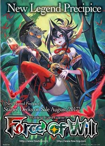 Force of Will - Darkness Children Of the Night Starter Deck - New Legend Precipice - 51 cards