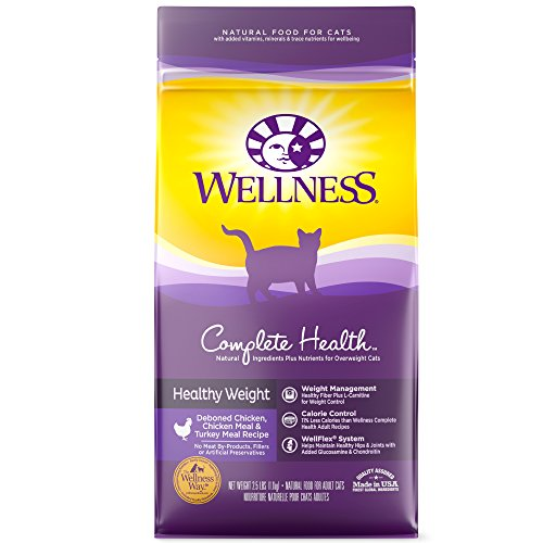 Wellness Healthy Weight Dry Cat Food 40 Oz