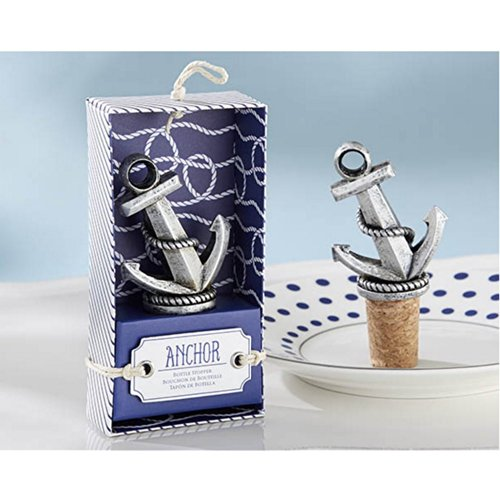 Nautical Anchor Bottle Stopper (pack of 30)
