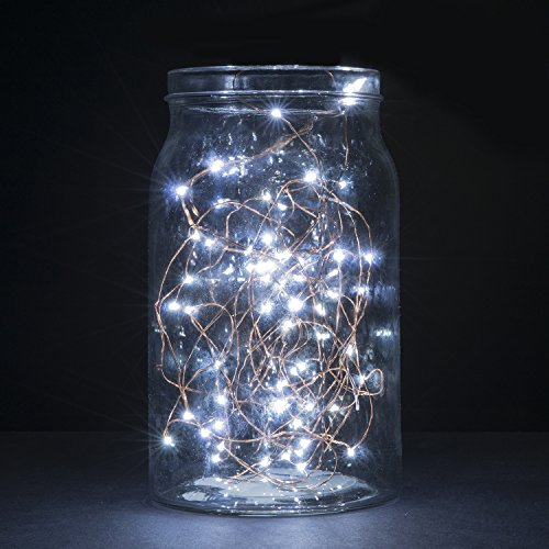 string lights oak leaf 2 set of micro 30 leds super bright cool white led rope lights battery. Black Bedroom Furniture Sets. Home Design Ideas