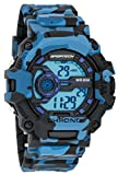 Men's Watches by Sportech - Digital Navy Camouflage Water Resistant Sport Watch - Make Every Second Count - SP12402