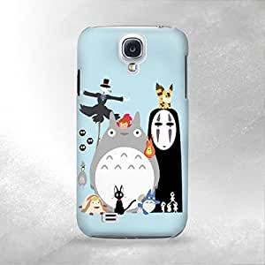 Totoro Mononoke - Samsung Galaxy S4 i9600 Back Cover Case - Full Wrap Design