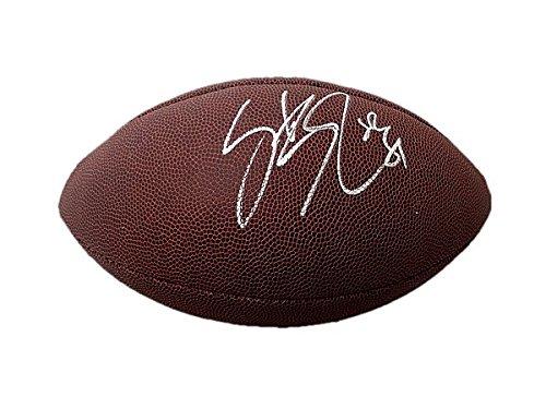 Steve Smith Sr Wilson NFL Signed Football - JSA Authentication - Autographed NFL Footballs - Steve Smith Autograph