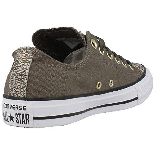Converse All Star Ox Mujer Zapatillas Gris Verde