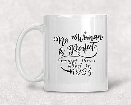 Amazon No Woman Is Perfect 1955 63rd Birthday Mug