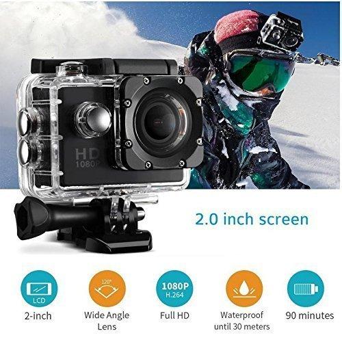 RFV1™ Full HD 1080P Sports DV Action Waterproof Camera