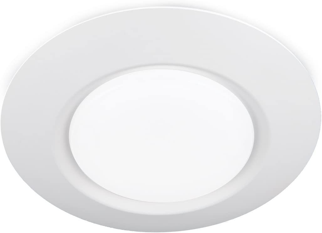 WAC Lighting FM-616-930-WT I Can't Believe It's Not Recessed LED Ceiling Light in White Finish 6 Inch, 90+ CRI and 3000K, Singles