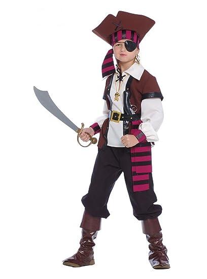traje corsario Pirata de los de Nuevo EL mundo – Niño 5 – 6 años