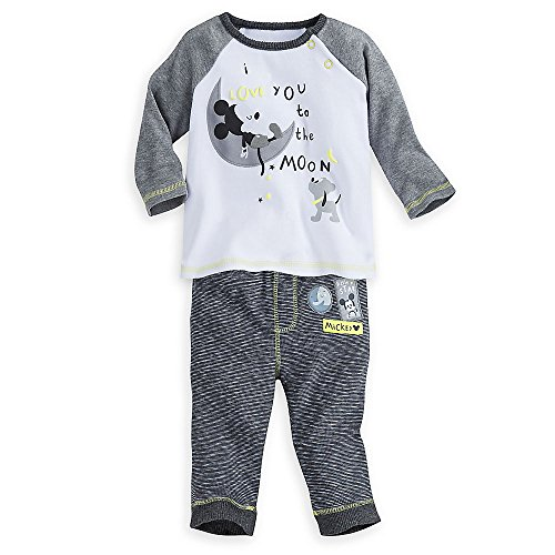 Disney Mickey Mouse Layette Leggings Set for Baby Size 3-6 MO Multi