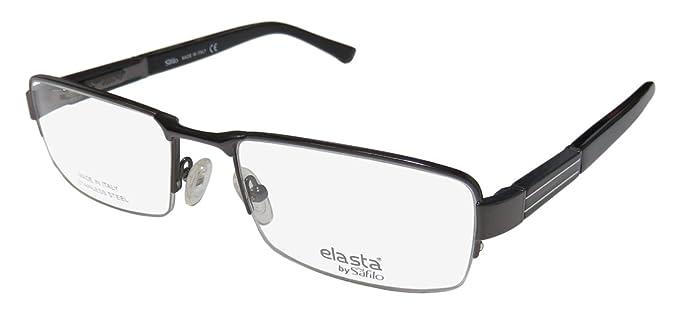 Amazon.com: Elasta Elasta 3093 0ez7 Gunmetal Lentes: Clothing