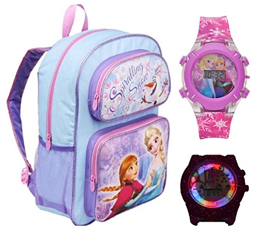 Disney Frozen Backpack Flashing Light
