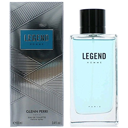 Legend Cologne By Glenn Perri 3.4 Oz Eau De Toilette Spray for Men