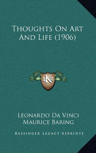 Read Online Thoughts On Art And Life (1906) PDF
