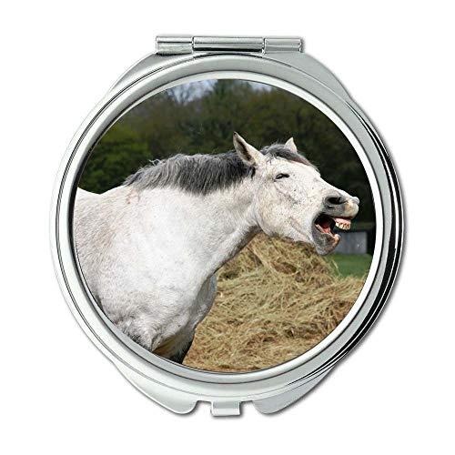 Mirror,makeup mirror,animal domestic animal farm,pocket mirror,portable - Tampa Bathroom Mirrors