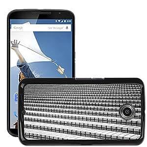 Hot Style Cell Phone PC Hard Case Cover // M00153053 Stairs Stones Stone Gradually // LG Google Nexus 6