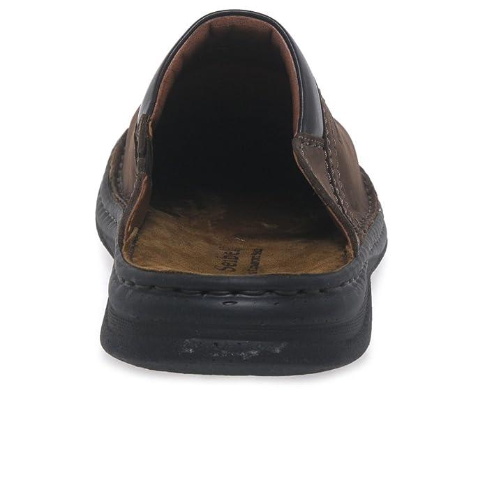 36a2dea61d4b4 Josef Seibel Max Men's Brown Leather Mules 6.5/40 Brasil: Amazon.co.uk:  Shoes & Bags