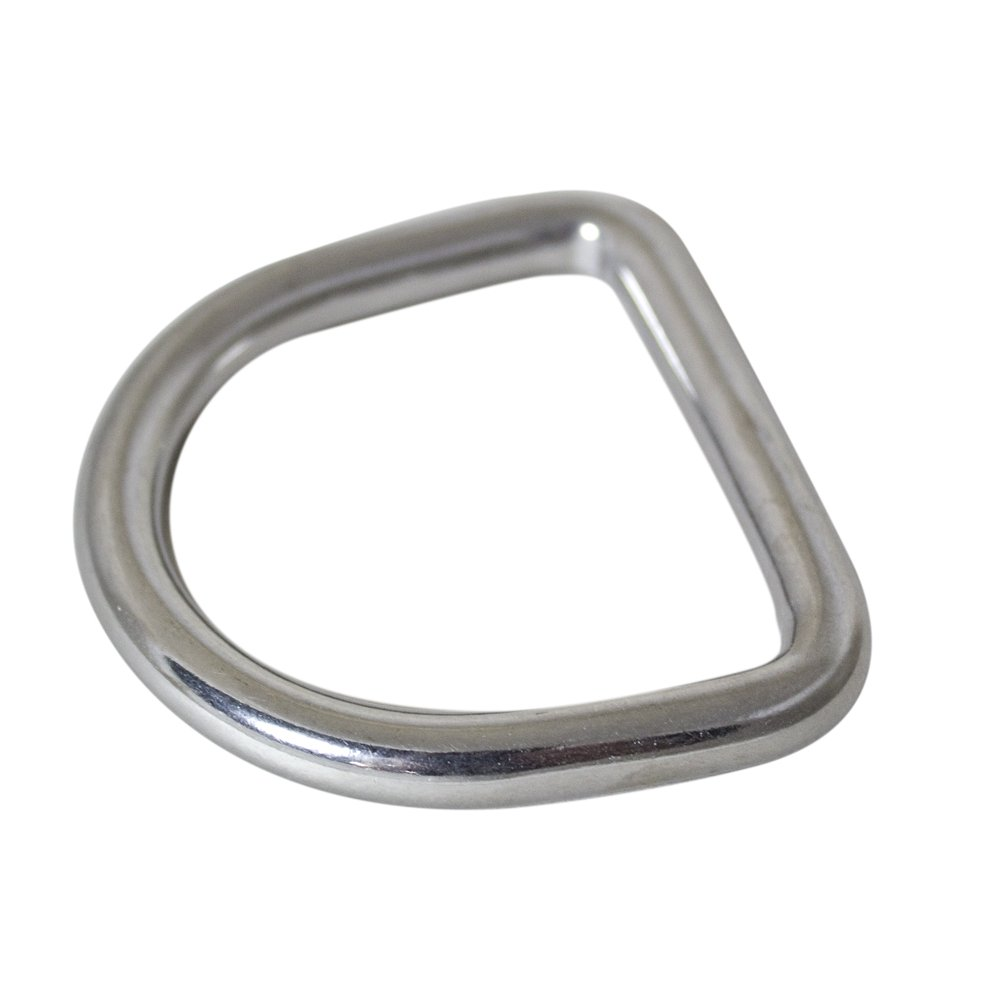 Coolaroo Shade Sail Hardware, 8 X 50 mm D-Ring for Shade Sail Installation by Coolaroo (Image #1)