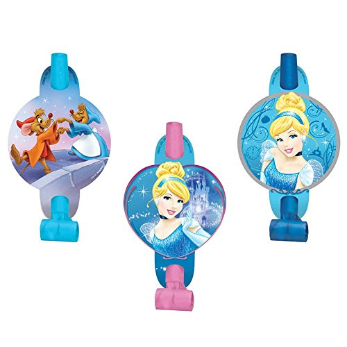 Disney Cinderella Princess Birthday Party Blowouts Noisemaker Toy