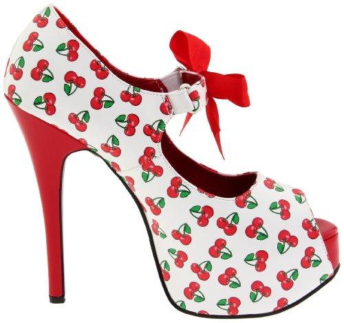 Pinup Couture - zapatos de tacón mujer multicolor - multicolor
