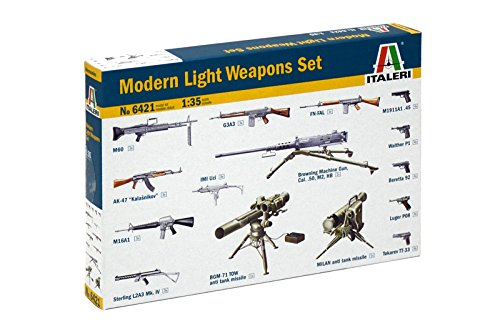 Italeri 6421 1/35 Modern Light Weapon Set - Assembly Required