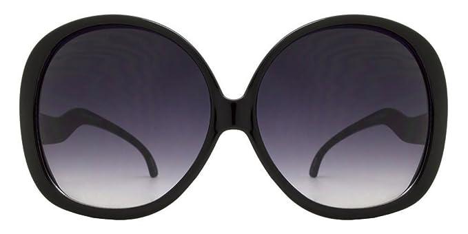 """ed8156cbb542 Elite - Big Huge Oversized Vintage """"Jackie O"""" Style Sunglasses  Retro Women Celebrity"""