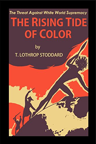 Book cover from The Rising Tide of Color by T Lothrop Stoddard