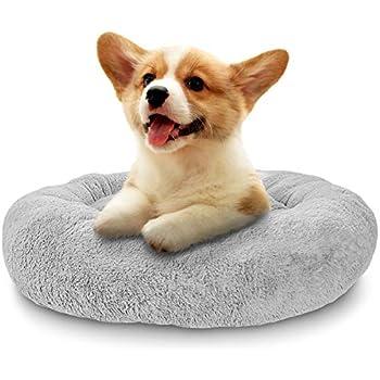 Amazon.com : Dogit Style Donut Bed, Rosebud, Gray X-Small