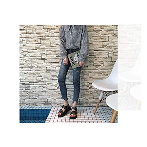 レディース 歩きやすい サンダル 痛くない 靴 ヒール 厚底 プラットフォーム スポーツサンダル 黒 ブラック グリーン シンプル カジュアル ビーチサンダル マジックテープ カジュアルシューズ 大きいサイズ 25.0cm