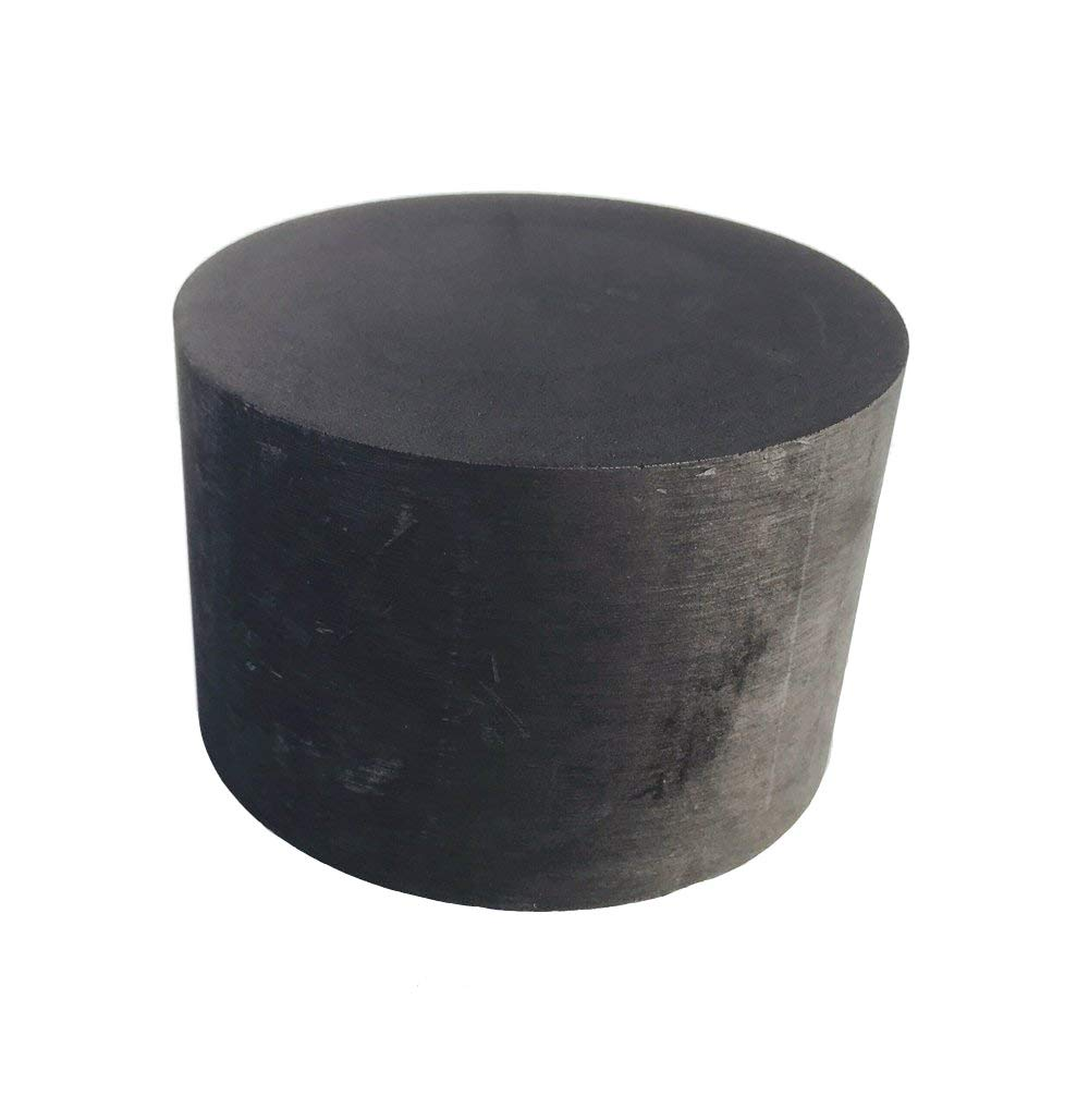 OTOOLWORLD 99 9% Purity Graphite Ingot Block EDM Graphite Plate Milling  Surface (75MMx50MM)