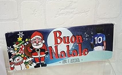 Buon Natale Napoletano.Subito Disponibile Biglietto Auguri Buon Natale Parlante In