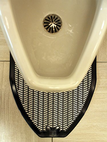 Impact Products 1525-5 Non-Skid Disposable Urinal Floor Mat, 17-1/2'' Width x 20-3/8'' Length, Black (Pack of 6) by Impact (Image #6)