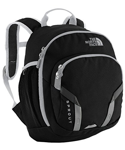 The North Face Youth Sprout Backpack Youth TNF Black/High Rise Grey