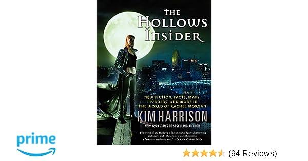 Amazon The Hollows Insider 9780062268471 Kim Harrison Books