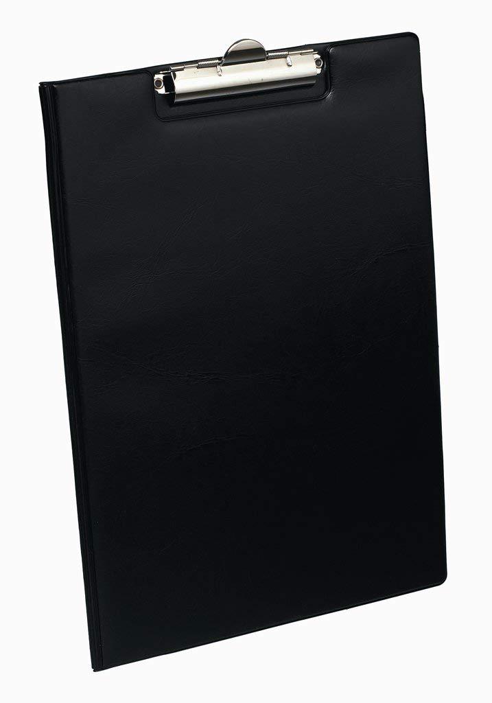 colore: Nero Elba 100202520SW Cartella portablocco con porta penna molla per circa 80 fogli DIN A4