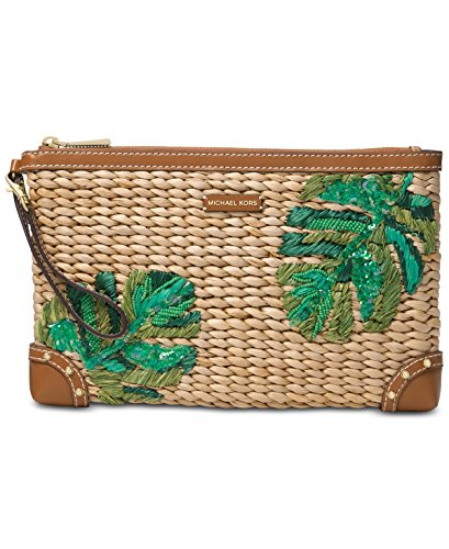 Michael Kors Woven Handbag - 5