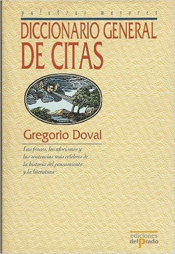 Diccionario de citas (Spanish Edition)