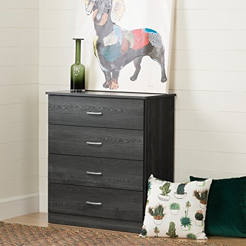 South Shore Libra 4-Drawer Chest, Gray Oak by South Shore