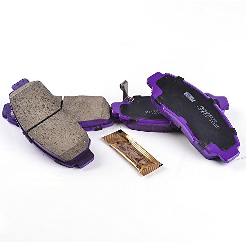 NiBK PN8465 – Noise-Free, Dust-less , Rotor Friendly Premium Ceramic Brake Pads