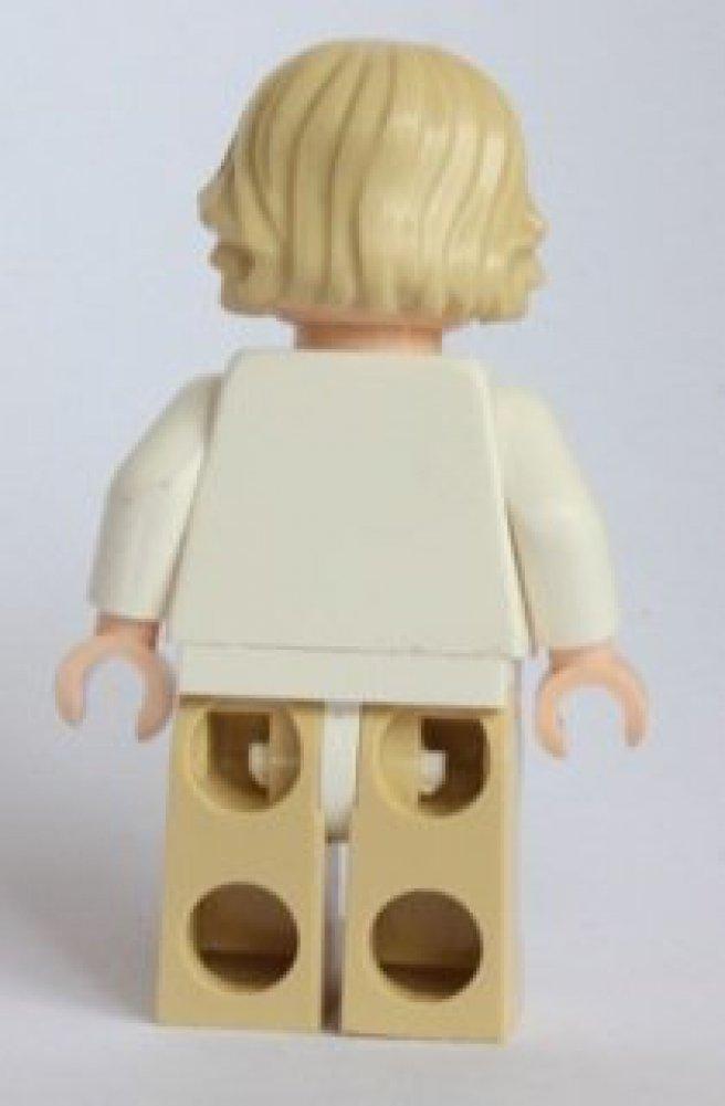 LEGO Star Wars Minifigure Helmet /& Lightsaber Luke Skywalker with Grey Visor on Head