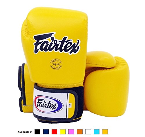 Twins Boxing Gloves 10oz Yellow - 5