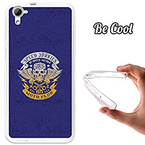 BeCool® - Funda Gel Flexible HTC Desire 826 Speed Junkies Motorcycle Carcasa Case Silicona TPU Suave
