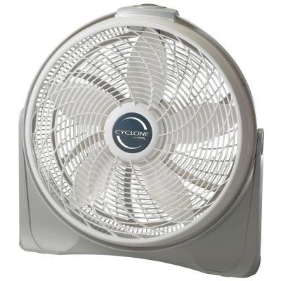 Lasko, Cyclone 20 In. Power Circulator Fan Three Whisper-quiet, High Performance Speeds