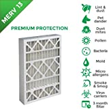 20x20x4 MERV 13 AC Furnace 4 Inch Air Filters. 6 PACK