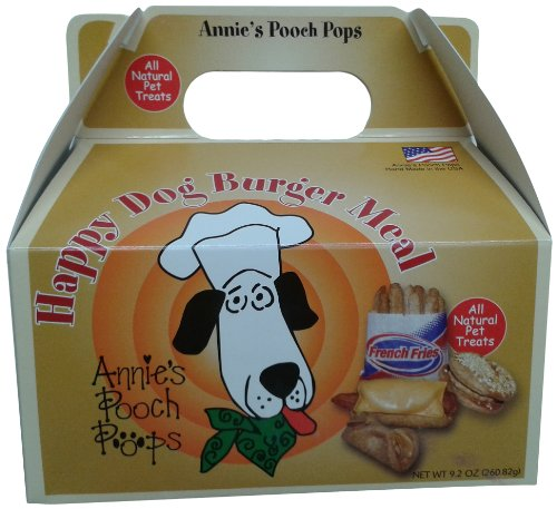 Annie's Pooch Pops Happy Dog Burger Meal (Doggy Pops Bacon)