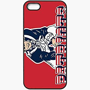 Personalized iPhone 5 5S Cell phone Case/Cover Skin 1070 new england patriots 0 Black